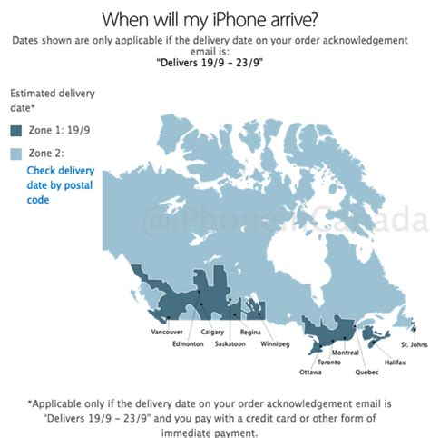 first iphone 6 pre orders shipping in canada as ups canadian iphone 6 pre order and launch guide u sticky