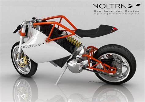Fahrrad Motorrad Design by Voltra Electric Motorcycle Concept Look Ma No Tank
