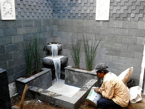 membuat filter air kolam sendiri gambar kolam ikan air terjun mini dalam rumah kolam koi