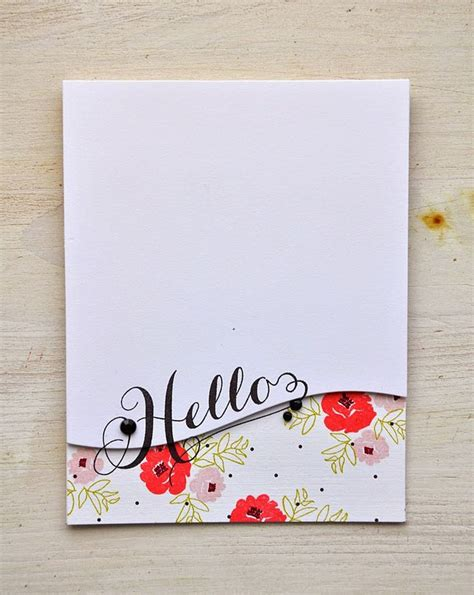 Handmade Sheet Greeting Cards - 628 best images about card design clean simple on