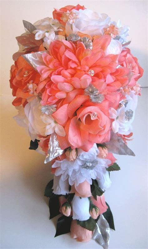 coral and grey wedding centerpieces 17 best ideas about coral flower centerpieces on