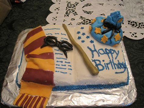 48 Harry Potter Birthday Cakes and Cupcakes   Cakes and