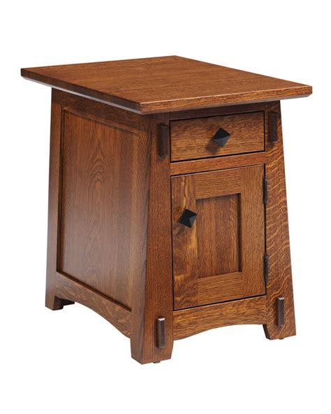 Stickley Dining Room Furniture olde mission chairside end table ohio hardword