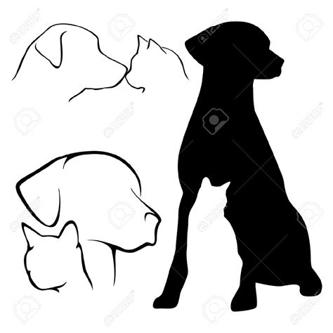dog silhouette tattoo labrador silhouette search patterns for crafts