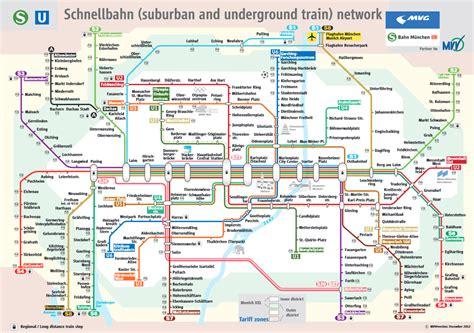munich metro map metro de m 250 nich u bahn l 237 neas horarios y precios