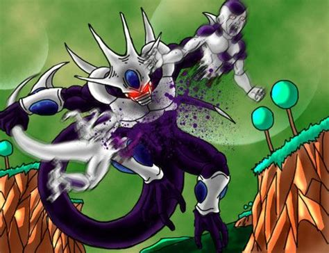 dragon ball z cooler wallpaper cooler ripping his brother frezia in half so epic
