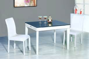 Modern Dining Room Sets by Modern White Dining Room Set G020 With White Chairs