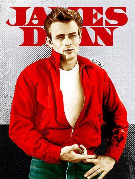 Jacket: james dean, windbreaker, wind jacket, red jacket