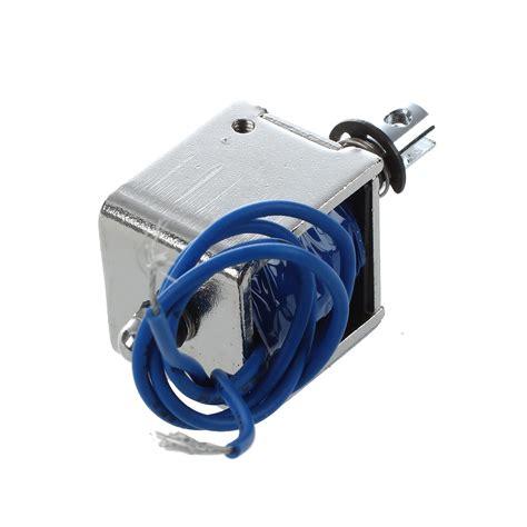 Jf 0826b Dc12v 2a 20n 10mm Pull Push Type Solenoid Electromagnet dc 12v 2a pull type linear solenoid electromagnet 10mm 20n dw ebay