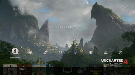 ps4 themes uncharted first screenshot and video preview of uncharted 4 a thief