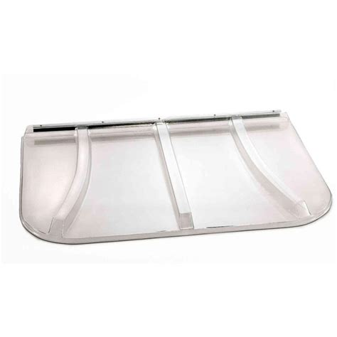 Window Cover For Home Shape Products 69 In X 38 In Polycarbonate U Shape