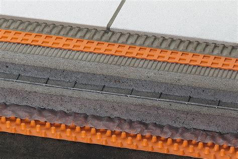 Ditra Mat Thickness by Schluter 174 Ditra Drain Stu Drainage Troba Membranes