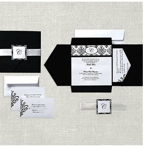 blank wedding invitation kits my diy invitations weddingbee photo gallery