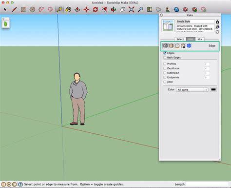 sketchup layout remove background 10 maneiras de deixar seu sketchup mais r 225 pido