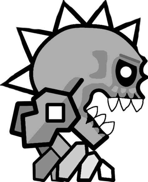 Geometry Dash Coloring Pages