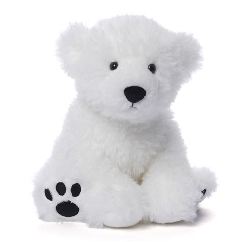 fresco the baby polar bear stuffed animal by gund