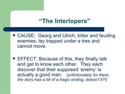 The Interlopers By Saki Essay by Essay Questions For The Interlopers