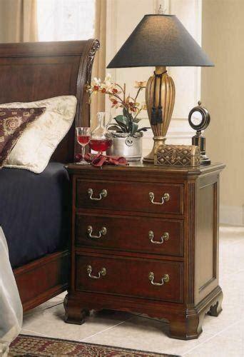cherry finish nightstand ebay