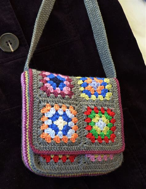 crochet tote bag pattern pinterest messenger bag by judith l swartz free crochet pattern