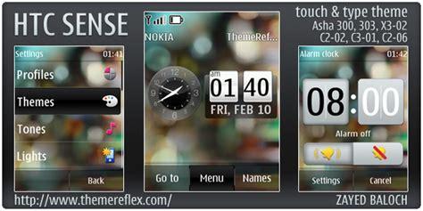 themes nokia asha 303 htc sense theme for nokia asha 303 300 x3 02 and touch