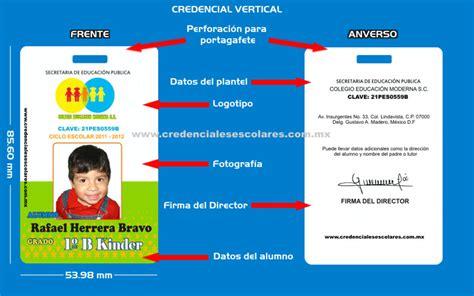 credenciales escolares formato formato credenciales escolares hairstylegalleries com