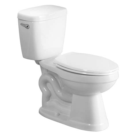 comfort height toilet lowes shop aquasource all in one white 1 28 gpf 4 85 lpf 12 in