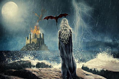 imagenes en 4k de dragones ilustraci 243 n de daenerys quot madre de dragones quot juego de