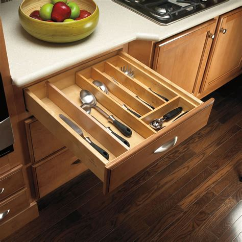 kitchen drawer organizers wood : Kitchen Drawer Organizer