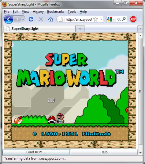 top 7 free snes super nintendo emulators for android to supersharplight mario