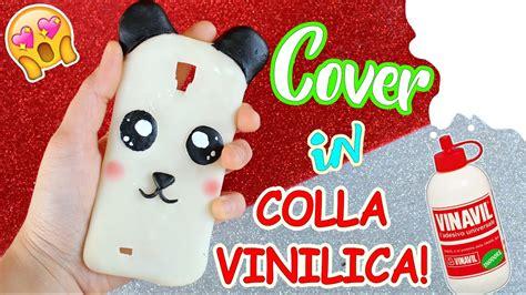 colla vinilica fatta in casa facciamo una cover panda in colla vinilica fatta in casa