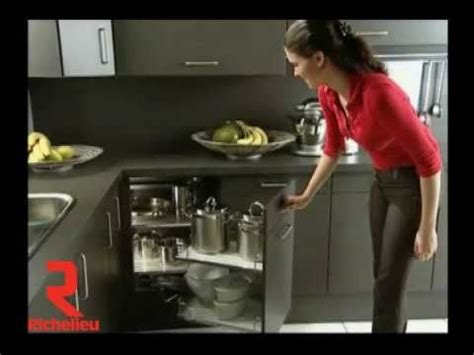 Kitchen Cabinets Corner Pantry richelieu hardware magic corner youtube