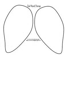 wing template learning printables for children