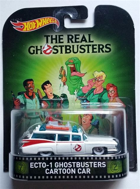 Promo Hotwheels Retro Ghostbuster Ecto 1 Car wheels ecto 1 ghostbusters car ghostbusters wiki fandom powered by wikia