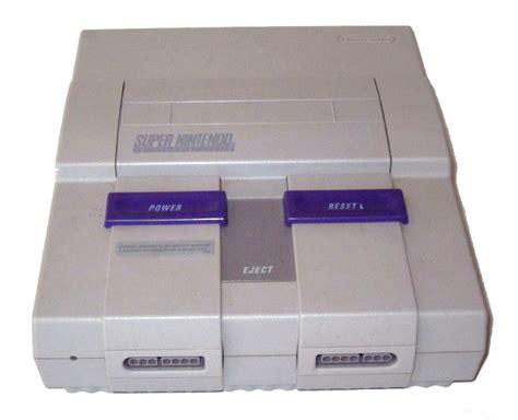 nintendo console snes console gallery