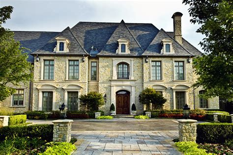 french chateau architecture french roof lines contemporary luxury mansion french