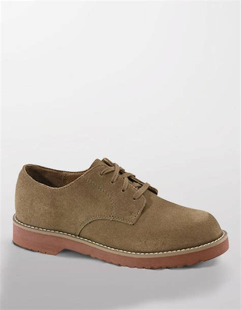 suede oxford shoes sperry top sider tevin suede oxford shoes in brown for