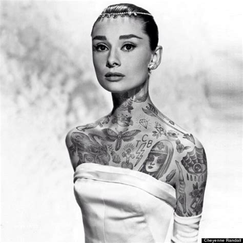 shoppedtattoos if celebrities were covered in awesome
