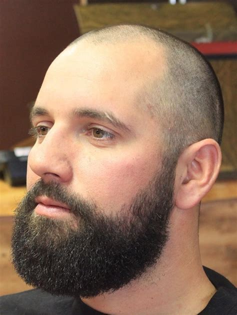 what styles is good for woman balding head shaved head with beard 40 beard styles for bald men