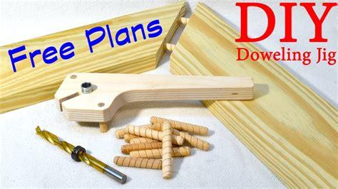 shop  doweling jig  plans youtube