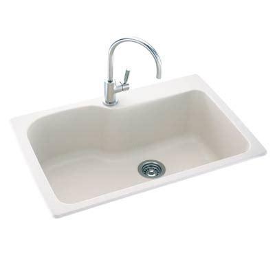 Kitchen Sink 33x22 The Swan Corp Kssb3322 010 Swanstone Single Bowl Kitchen Sink 33x22 White At Sutherlands