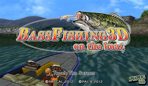bass fishing apk bass fishing 3d on the boat v1 0 1 android скачать