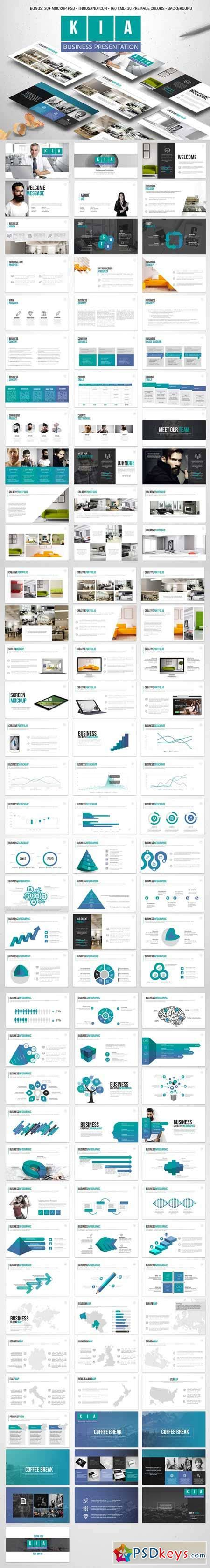 kia powerpoint template 585914 187 free download photoshop