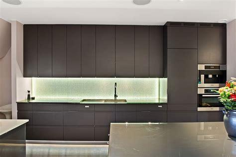 sleek kitchen cabinets luxurious loft apartment in stockholm with scandinavian design