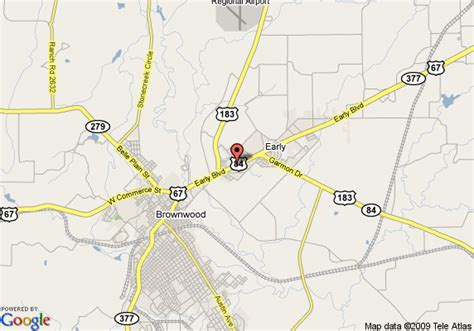 where is brownwood texas on the map map of knights inn brownwood early
