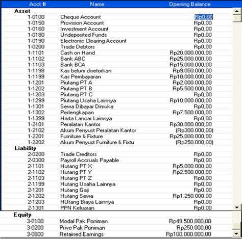 Buku Panduan Laporan Keuangan Dengan Myob contoh jurnal umum hutang ndang kerjo