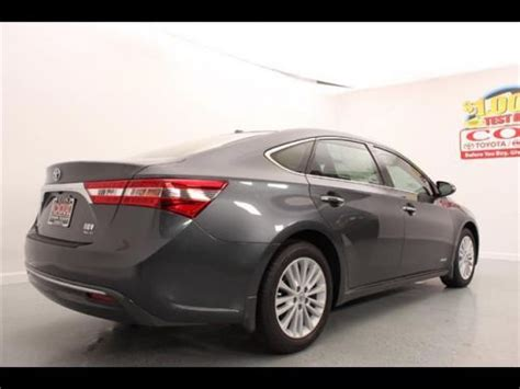 2014 toyota avalon hybrid xle premium find new 2014 toyota avalon hybrid xle premium in 3860
