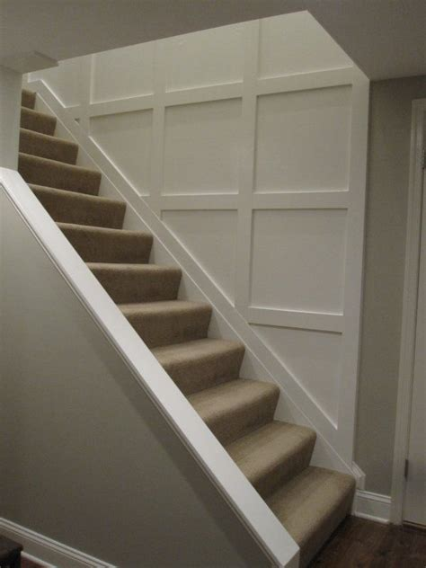 Wainscoting Up Stairs by Opening Downstairs Entry By Cutting Away Wall And Adding