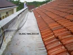 Karpet Talang Genteng baja ringan mankar truss penyebab talang atap bocor