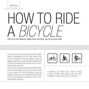 how to ride a bicycle manual zenaadhami