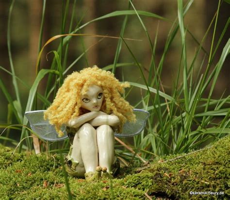 Garten Deko Elfen by Keramik Fleury Gartendeko Elfengarten Elfe Fee Feen